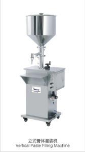 Vertical Pneumatic Bottle Filling Machine for Detergent
