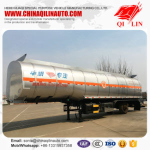 3 Axles Oil Tank Semi Trailer with Single Compartment pictures & photos