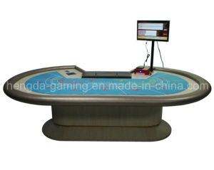 Upscale Casino Baccarat Poker Table