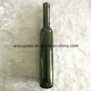 Wholesale 375ml Dark Green Glass Ice Wine Bottles