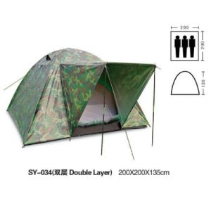 Promotion Outdoor Camping Tent Fishing Tent Double Skin pictures & photos