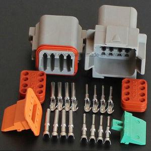 Automotive Wire Harness Kits Coupling 8pole Dt Connector Dt06-8PA pictures & photos