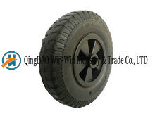 8 Inch High Capacity Solid Rubber Wheels for Machines pictures & photos