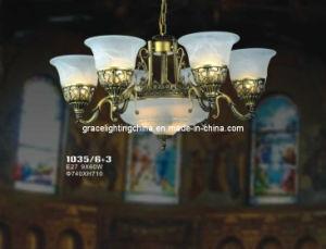 Lighting Factory Decoration Pendant Lamp Glass Chandelier pictures & photos