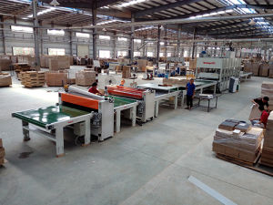Honeycomb Laminated Hot Press Production Line pictures & photos