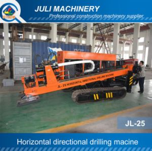 Jl-25 Horizontal Directional Drilling Rig. 25ton HDD Machine. Trenchless Drilling Rig