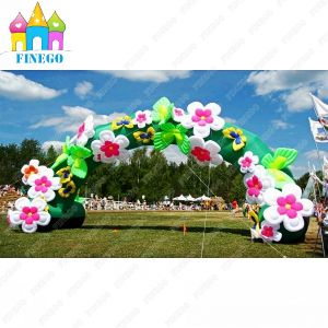 Wedding Event Party LED Decoration Lighting Inflatable Flower Arch pictures & photos