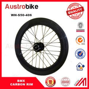 BMX Rim 50mm Depth Wheel 406 20inch Carbon Clincher Rim pictures & photos
