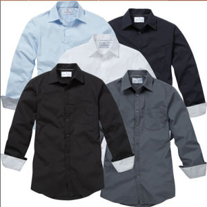 2015 Latest Long Sleeve Formal Business Man Uniform Shirt pictures & photos