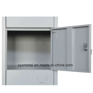 Hot Saling Commercial Furniture Detachable 12 Door Metal Wardrobe pictures & photos