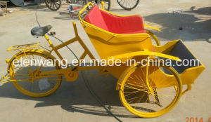3wheeled Rickshaw Tricycle for Hotel Show pictures & photos