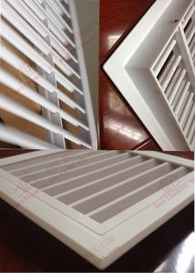 PVC/Plastic ABS Air-Conditioning Air Vent Shutters pictures & photos