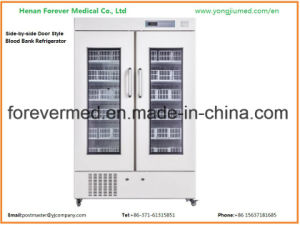 660L Medical Blood Bank Medicine Storage Pharmacy Refrigerator pictures & photos