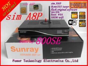 Sunray 800 HD Se 800se WiFi A8p SIM Card Set Top Box