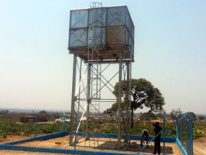 Galvanised Steel Water Tanks with Towers pictures & photos
