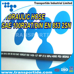 High Pressure Rubber Hydraulic Hose 1sc pictures & photos
