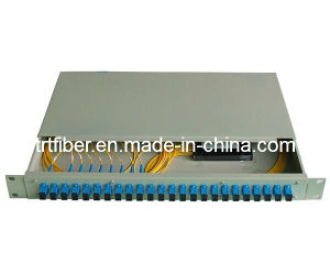 Sc Fiber PLC Splitter Patch Panel pictures & photos