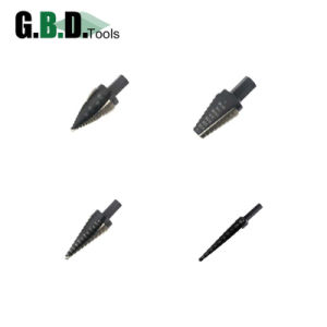 Radial Concave Flute Step Drill Bit M35/M2 Grade Cobalt HSS pictures & photos