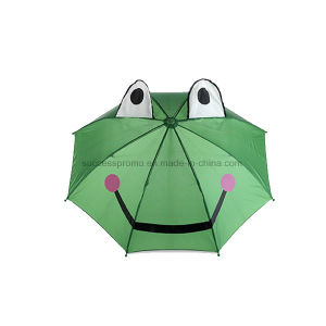 Animal Umbrella with Frog Design Polyester Fabric 170t pictures & photos