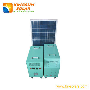 Solar Home Power System Solar Panel: 120*2W; Battery: 120ah pictures & photos