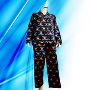 100% Cotton Allover Print Flannel Lady′s Pajamas pictures & photos