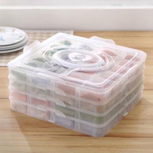 Portable Buckle Lid Dumpling Box, New Designed Dumpling Storage Box pictures & photos