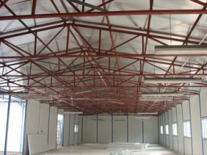 Light Steel Structure Building, Steel Structure Shed with Sandwich Panel pictures & photos