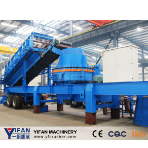Good Quality and Low Cost Rubber-Tyred Mobile Crusher pictures & photos