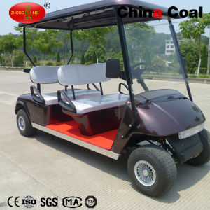 4 Seaters Battery Powered Cars pictures & photos