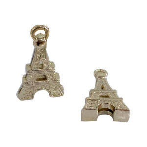 New Arrival Customized Eco-Friendly Material Tower Shape Zipper Puller pictures & photos