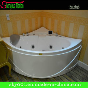 Hangzhou New ABS Film Corner Whirlpool Bathtub (TL-319) pictures & photos