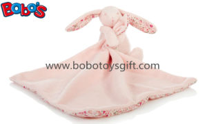 CE Approved Good Quanlity Infant Toy Plush Baby Bunny Hold Blanket pictures & photos
