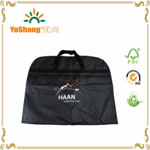 Best Selling Zip Lock Foldable Suit Garment Bag pictures & photos
