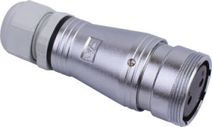 Circular Cable Power Waterproof Connector (PC28f-2k)