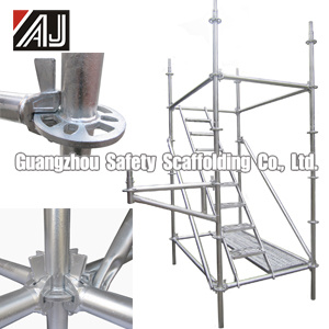 Q235 Steel Wedge Lock Scaffolding for Building Construction, Guangzhou Manufacturer pictures & photos