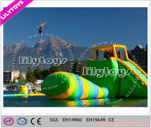 Exciting! Attractive! 0.9mm Plato PVC Inflatable Floating Water Aqua Park Games on Sea (J-water park-103) pictures & photos