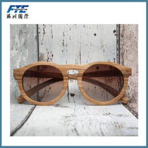 Wholesale Wooden Frame Sunglasses Custom Eyewear with UR Logo pictures & photos