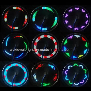 14 LED Tire Cycling Wheel Spoke Light Lamp 30 Changes pictures & photos
