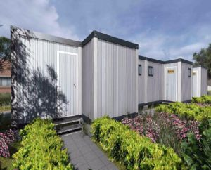 Container Home with 3 Bedrooms 1 Living Room 1 Kitchen pictures & photos