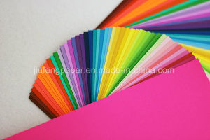High Quality Wood Pulp Dyed Color Paper Children Handicraft Paper pictures & photos