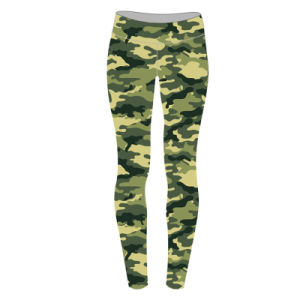 Custom Camouflage Sublimated Leggings for Women pictures & photos