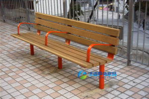 Plastic Wood Park Bench Outdoor Furniture (FY-045X)