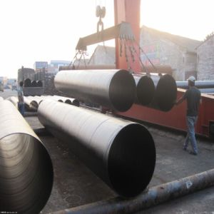 Thick Wall Spiral Steel Pipe pictures & photos
