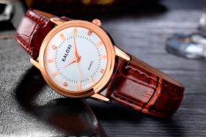 Caloxi fashion Ladies Wristwatch Gold and Ss Colors Selectable pictures & photos