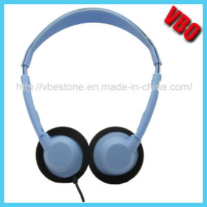Cheap Stereo Headset Plastic Headphone for Airline pictures & photos