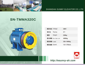Gearless Traction Machine for Elevator (SN-TMMA320C) pictures & photos