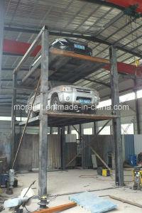 Car Garage Parking Four Post Car Lift (SJD) pictures & photos