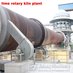 2016 Yuhong 100- 600tpd Lime Rotary Kiln for Lime Kiln Plant pictures & photos