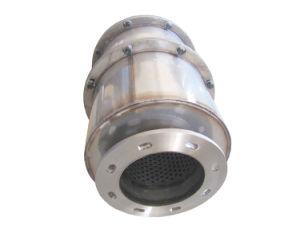 Euro 5 Metallic Housing and Ceramic Core Diesel Engine SCR Catalytic Muffler pictures & photos