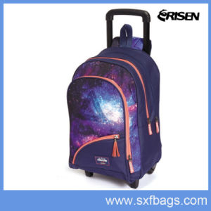 Outdoor Professional Fashion Trolley Polyester Backpack pictures & photos